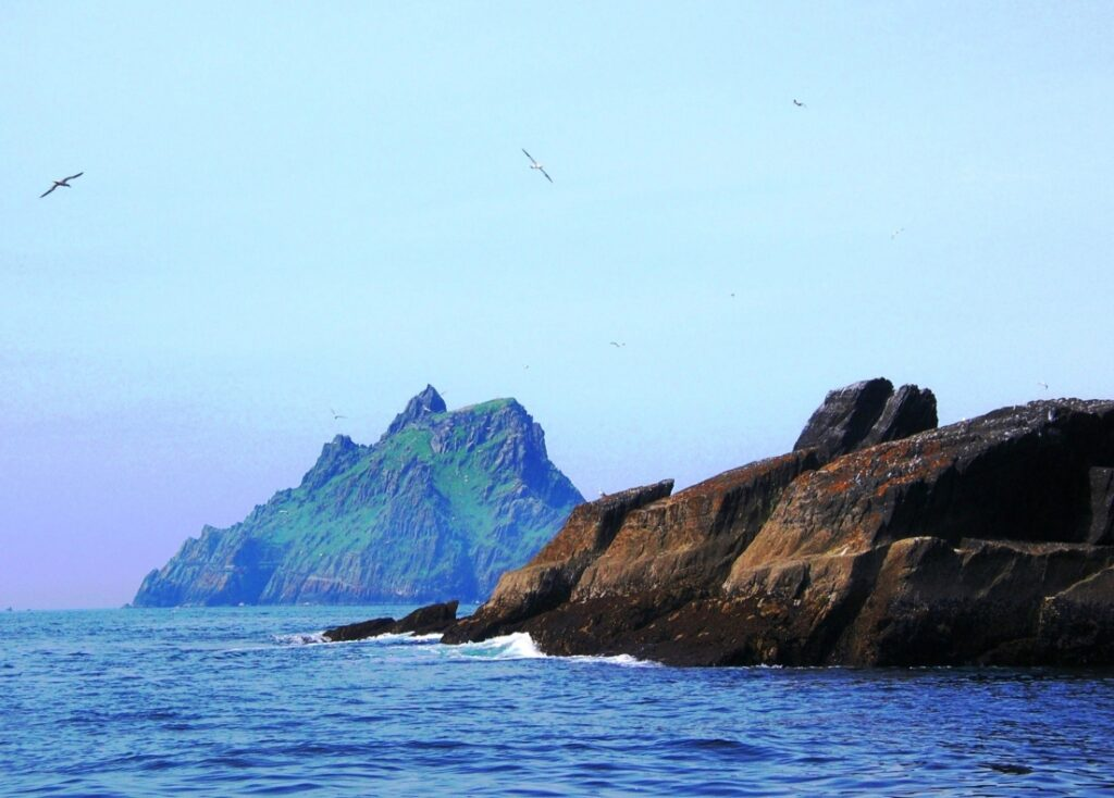 A View of Skellig Michael